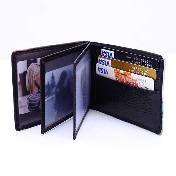 Personalized Genuine leather card package, ID package