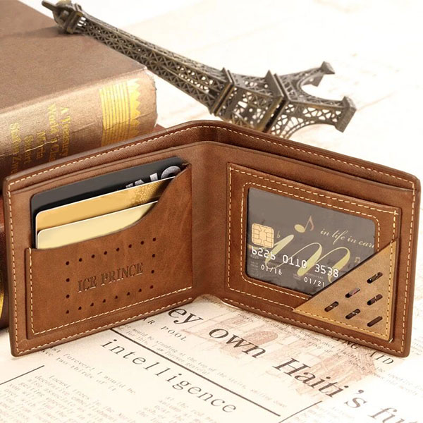 Personalized Photo Leather Men's Wallet