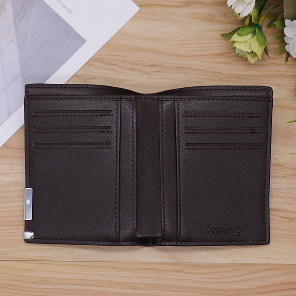 Ultra Thin Vertical Men's Photo Wallet