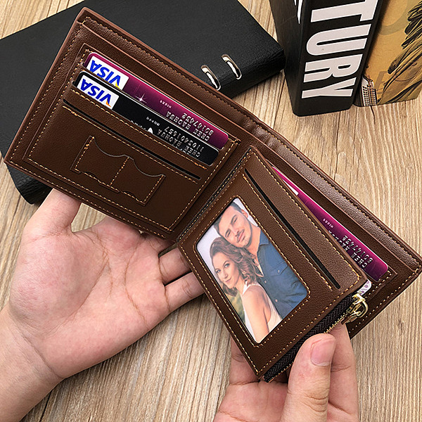 Personalized Photo Trifold wallet