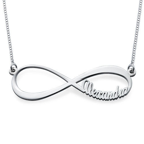 Infinity Up to 4 Names Necklace